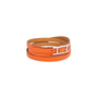 Authentic Second Hand Hermès Hapi 3 Quad Tour Bracelet (PSS-580-00005) - Thumbnail 5