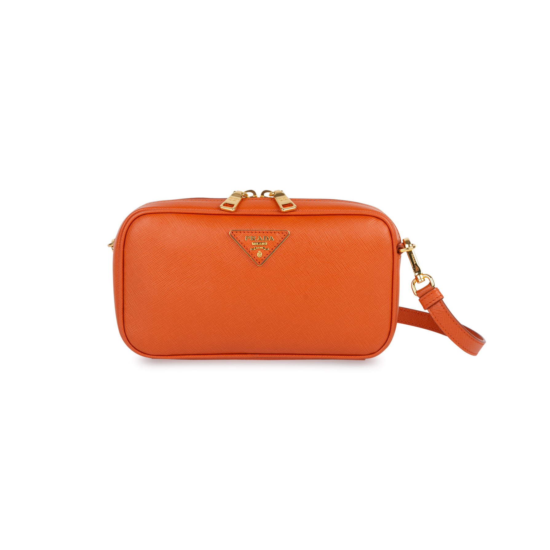 802b3690f178 Authentic Second Hand Prada Saffiano Lux Pochette (PSS-434-00012)   THE  FIFTH COLLECTION