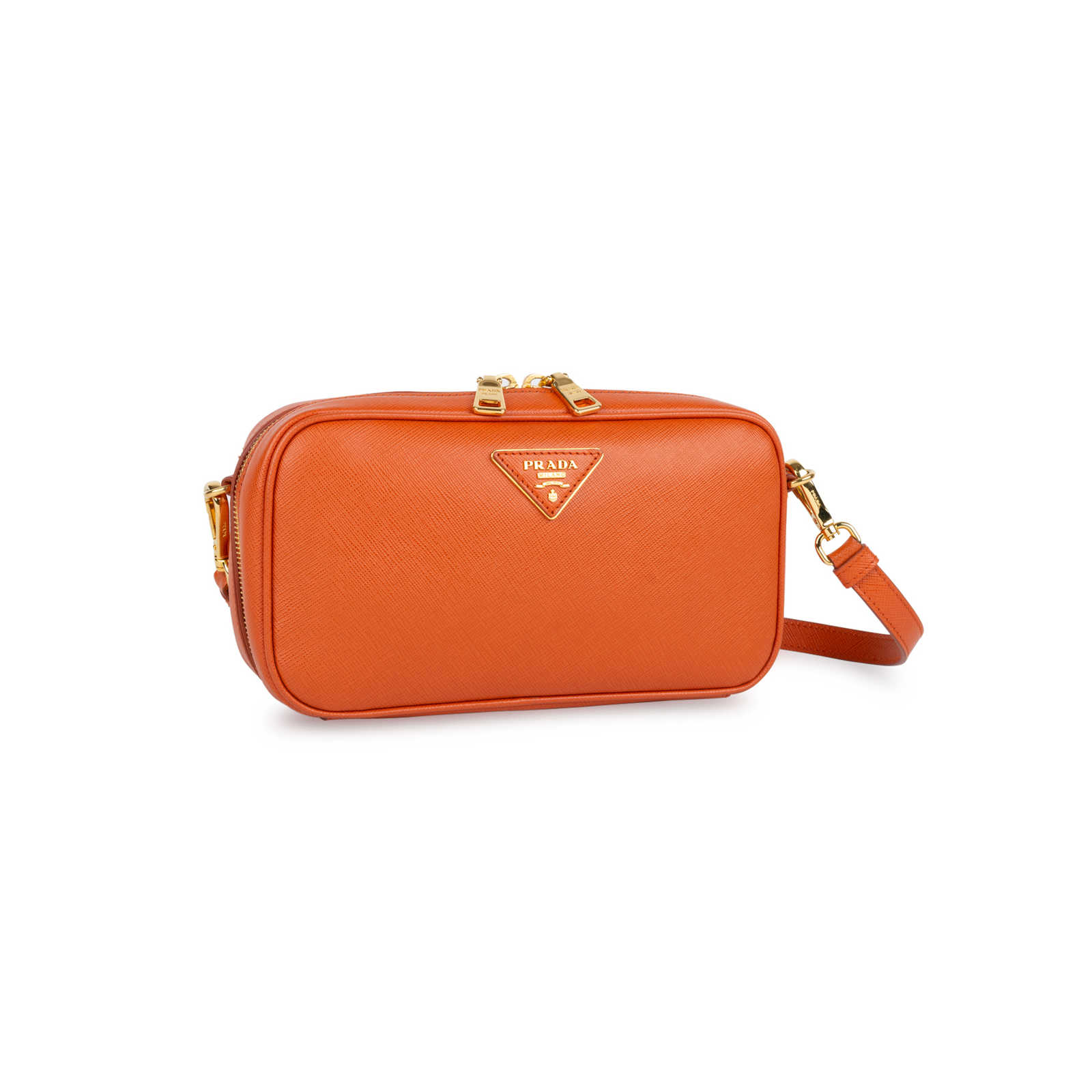 de46fd9a5614db ... Authentic Second Hand Prada Saffiano Lux Pochette (PSS-434-00012) -  Thumbnail ...