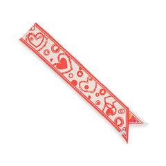 Salvatore ferragamo hearts skinny scarf 2?1543215273