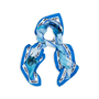 Authentic Pre Owned Tod's T' Printed Scarf (PSS-434-00019) - Thumbnail 1