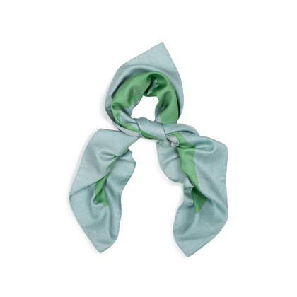 Authentic Second Hand Bulgari Topiary Printed Scarf (PSS-434-00020)