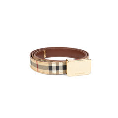 Burberry haymarket check belt 2?1543288105