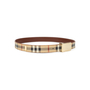 Authentic Second Hand Burberry Haymarket Check Belt (PSS-583-00001) - Thumbnail 2