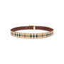 Authentic Second Hand Burberry Haymarket Check Belt (PSS-583-00001) - Thumbnail 3