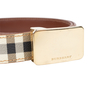 Authentic Second Hand Burberry Haymarket Check Belt (PSS-583-00001) - Thumbnail 4