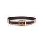 Authentic Pre Owned Louis Vuitton Monogram Canvas Belt (PSS-583-00002) - Thumbnail 0
