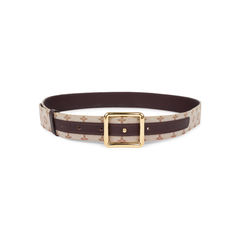 Monogram Canvas Belt
