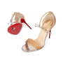Authentic Pre Owned Christian Louboutin Valnina Laser Cut Sandals (PSS-583-00003) - Thumbnail 1