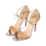 Authentic Pre Owned Christian Louboutin Valnina Laser Cut Sandals (PSS-583-00003) - Thumbnail 3