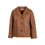 Authentic Second Hand Gerard Darel Violet Leather Jacket (PSS-145-00257) - Thumbnail 0