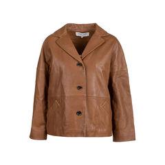 Violet Leather Jacket