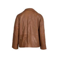 Gerard darel violet leather jacket 2?1543465567