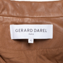 Authentic Second Hand Gerard Darel Violet Leather Jacket (PSS-145-00257) - Thumbnail 2