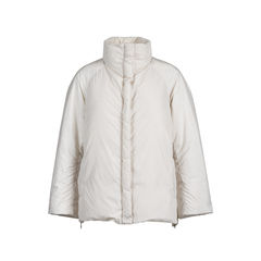 Zip Detail Down Jacket
