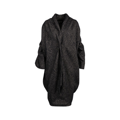 Authentic Second Hand Lanvin Draped Wool Coat (PSS-145-00258)
