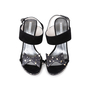 Authentic Second Hand Emporio Armani Suede Sandals With Bow (PSS-564-00001) - Thumbnail 0