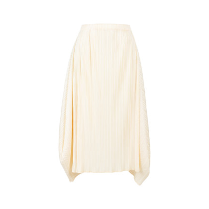 Authentic Pre Owned Pleats Please Midi Skirt (PSS-564-00003)