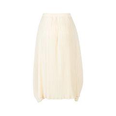 Pleats please midi skirt neutral 2?1543472415