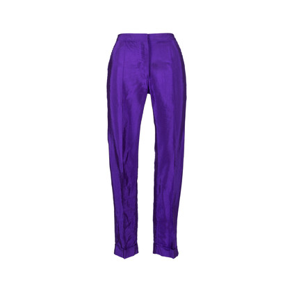 Authentic Pre Owned Dries Van Noten Straight Cut Pants (PSS-564-00004)