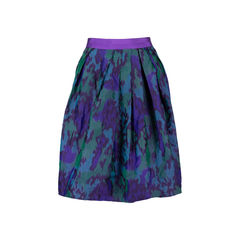 Abstract Printed Skirt