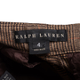 Authentic Second Hand Ralph Lauren Wide-Legged Houndstooth Trousers (PSS-564-00006) - Thumbnail 2