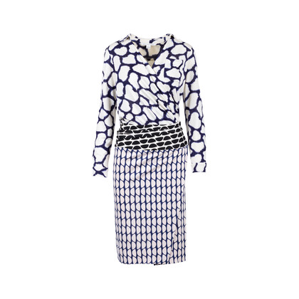 Authentic Pre Owned Diane Von Furstenberg Terry Wrap Dress (PSS-564-00008)