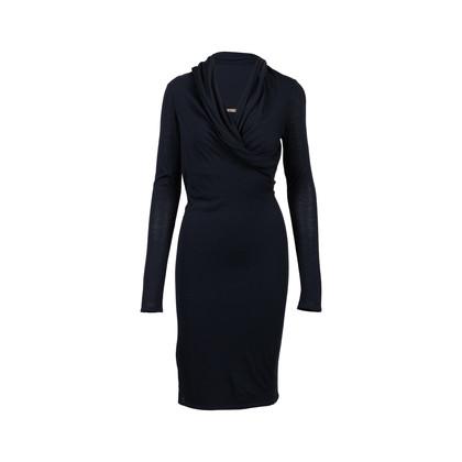 Authentic Second Hand Alexander McQueen Asymmetrical Hood Dress (PSS-564-00010)