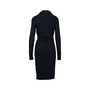 Authentic Pre Owned Alexander McQueen Asymmetrical Hood Dress (PSS-564-00010) - Thumbnail 1