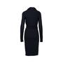 Authentic Second Hand Alexander McQueen Asymmetrical Hood Dress (PSS-564-00010) - Thumbnail 1