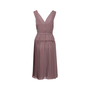 Authentic Second Hand Burberry Pleated Wrap Dress (PSS-564-00012) - Thumbnail 1