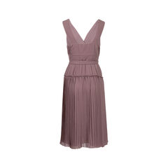 Burberry pleated wrap dress 2?1543472677