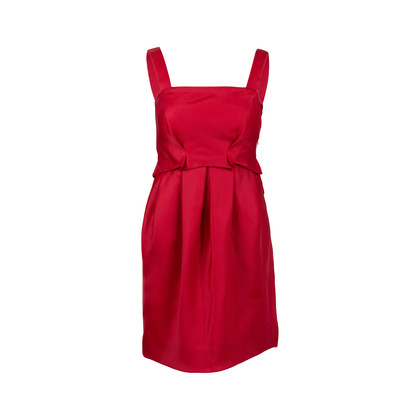 Authentic Second Hand Derek Lam Silk Pleated Dress (PSS-564-00016)
