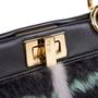 Authentic Pre Owned Fendi Mink Mini Peekaboo (PSS-200-01537) - Thumbnail 4