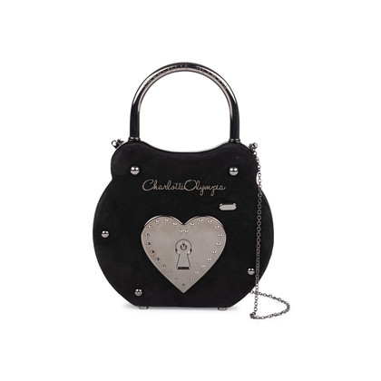 Authentic Second Hand Charlotte Olympia Chastity Padlock Bag (PSS-200-01538)