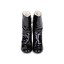 Authentic Pre Owned Chanel Patent Fur Lined Boots (PSS-200-01539) - Thumbnail 0