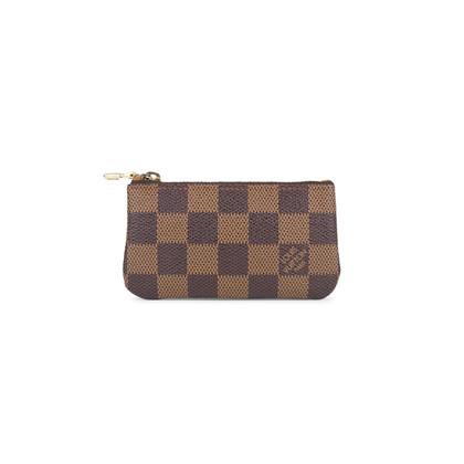 Authentic Second Hand Louis Vuitton Damier Key Clutch (PSS-200-01540)