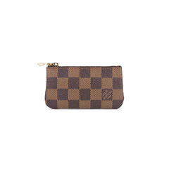 Damier Key Clutch
