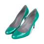 Authentic Pre Owned Sergio Rossi Patent Pumps (PSS-549-00001) - Thumbnail 3