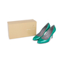 Authentic Pre Owned Sergio Rossi Patent Pumps (PSS-549-00001) - Thumbnail 6