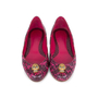 Authentic Pre Owned Alexander McQueen Snakeskin Skull Flats (PSS-549-00003) - Thumbnail 0