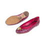 Authentic Pre Owned Alexander McQueen Snakeskin Skull Flats (PSS-549-00003) - Thumbnail 1