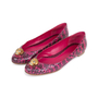 Authentic Pre Owned Alexander McQueen Snakeskin Skull Flats (PSS-549-00003) - Thumbnail 3