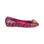 Authentic Pre Owned Alexander McQueen Snakeskin Skull Flats (PSS-549-00003) - Thumbnail 4