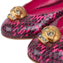Authentic Pre Owned Alexander McQueen Snakeskin Skull Flats (PSS-549-00003) - Thumbnail 6