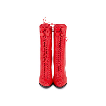 Authentic Pre Owned Givenchy Lace Up Boots (PSS-549-00004)