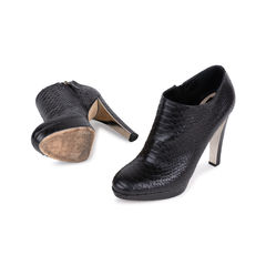 Christian dior python ankle boots 2?1543812280