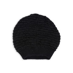 Moncler black alpaca long beanie 2?1543909825