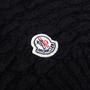 Authentic Second Hand Moncler Black Alpaca Long Beanie (PSS-200-01543) - Thumbnail 2