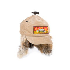 Dsquared2 for fur and corduroy baseball cap 2?1543909913